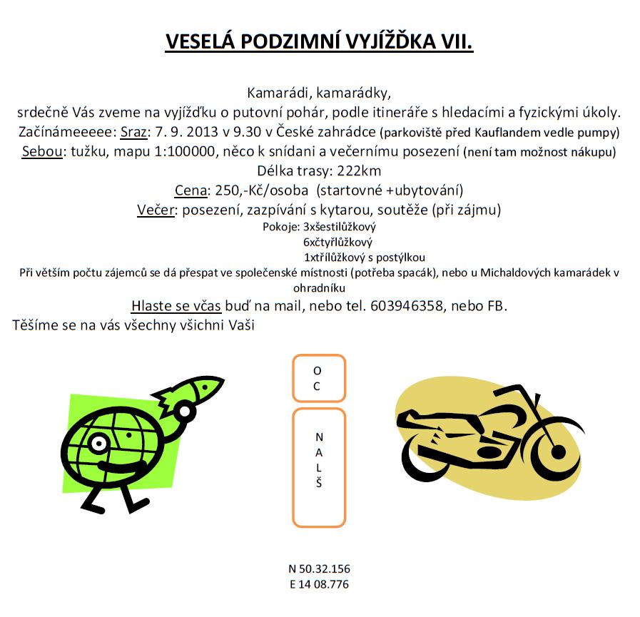 Podzimní vyjížďka VII.